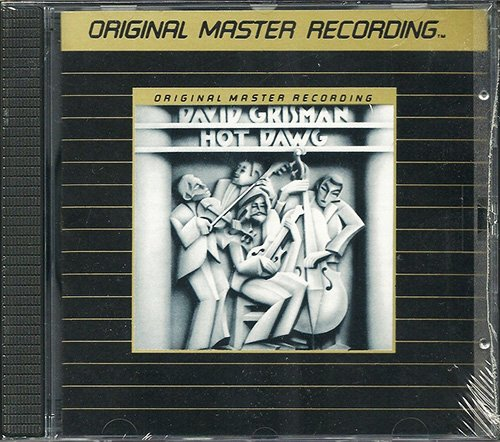 DAVID GRISMAN «Hot Dawg» (1979) (US 1987 Mobile Fidelity Sound Lab • UDCD 506)