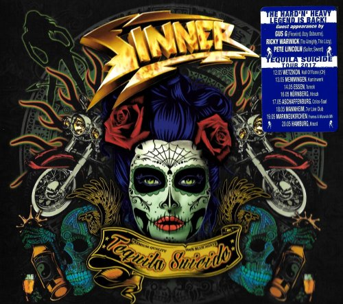 Sinner - Tequila Suicide [Limited Edition] (2017)