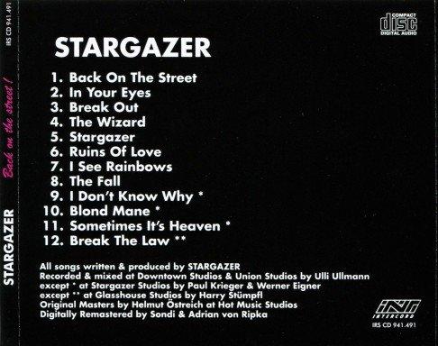 Stargazer - Back On The Street (1988) [Reissue 2012]