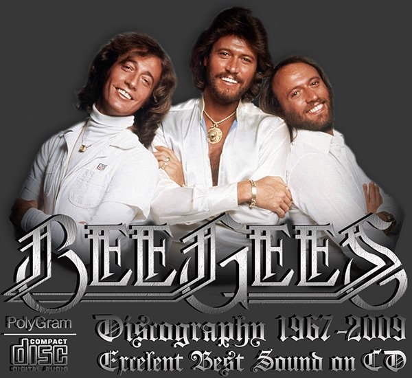 BEE GEES «Discography» (23 x CD • First Pressing • 1967-2009)