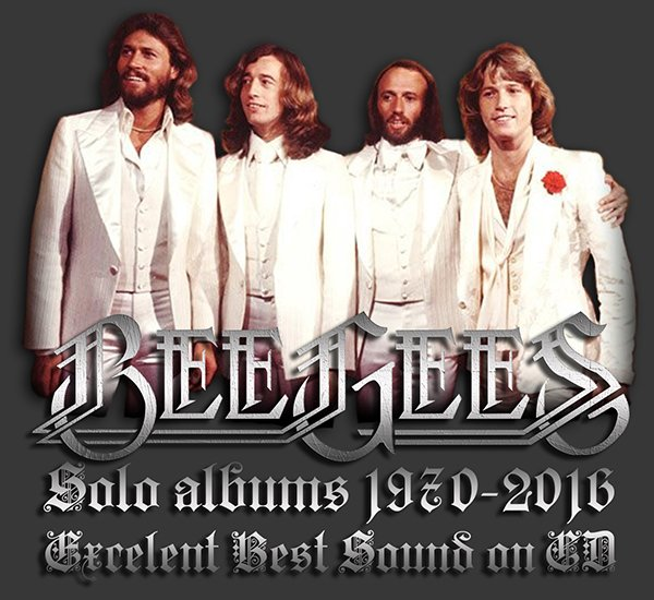 BEE GEES ?Family Solo albums? (16 x CD ? First Pressing ? 1970-2016)
