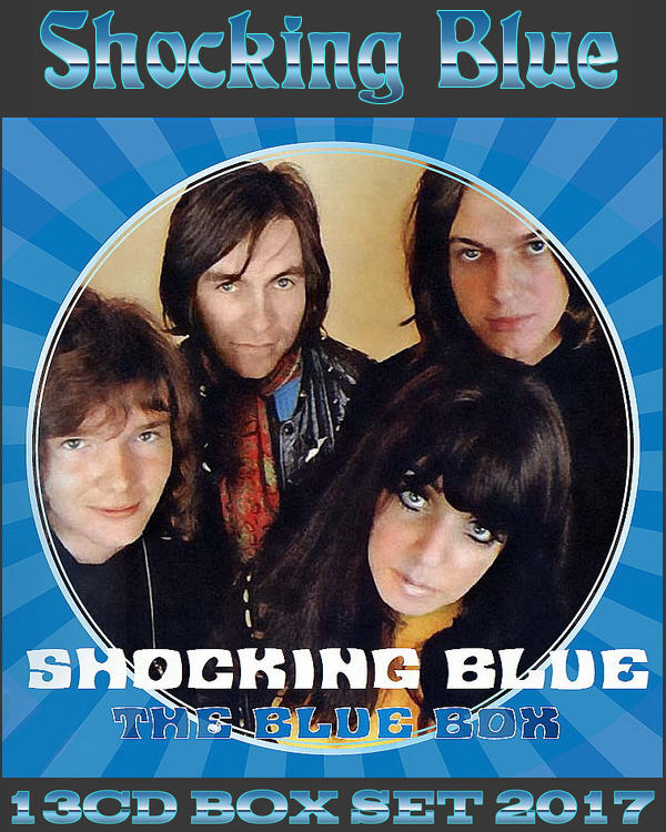 Shocking Blue: 2017 The Blue Box - 13CD Box Set Red Bullet