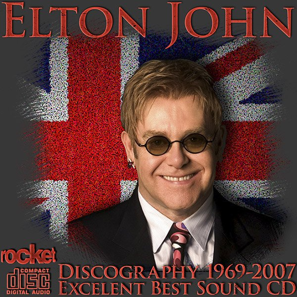 ELTON JOHN «Discography» (43 x CD • Japan 1st Press + SHM-CD Remastered • Issue 1988-2010)