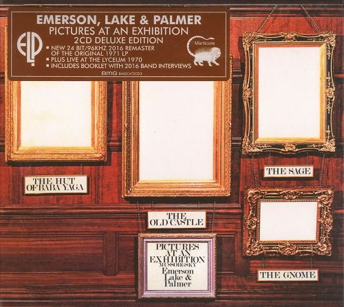 Emerson, Lake & Palmer (ELP) - Pictures At An Exhibition [2 CD Deluxe Edition, Remastered] (2016)