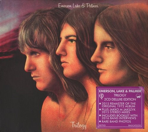Emerson, Lake & Palmer (ELP) - Trilogy [2 CD Deluxe Edition, Remastered] (2016)