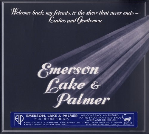 Emerson, Lake & Palmer (ELP) - Welcome Back My Friends... [2 CD Deluxe Edition, Remastered] (2016)