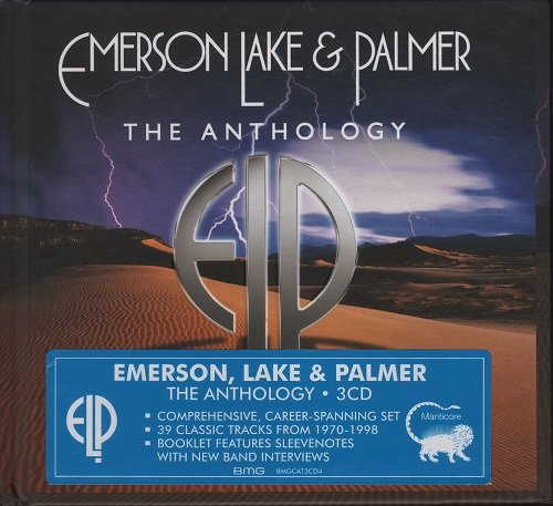 Emerson, Lake & Palmer (ELP) - The Anthology [3 CD Deluxe Edition] (2016)