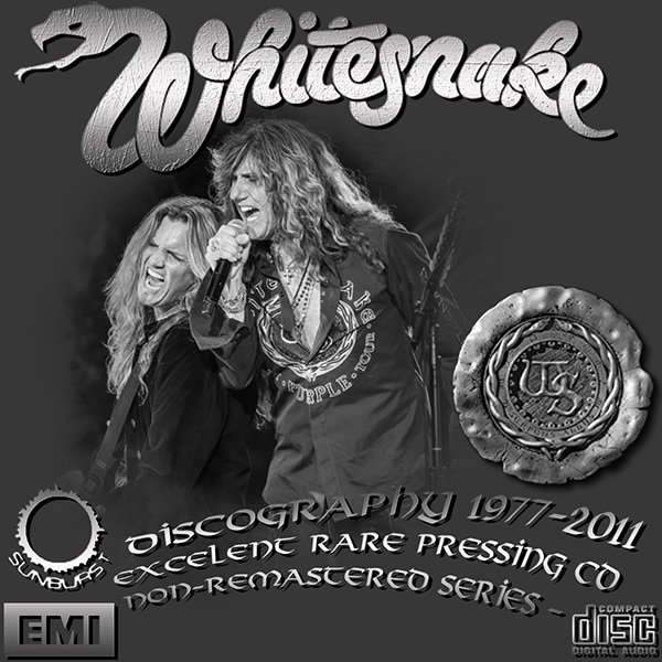 WHITESNAKE «Discography + solo» (19 x CD • First Press • 1977-2011)