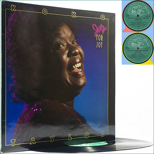 Koko Taylor - Jump For Joy (1990) (Vinyl)