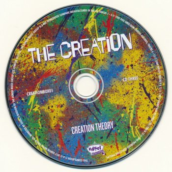 The Creation: 2017 Creation Theory - 4CD + DVD Box Set Edsel Records