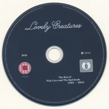 Nick Cave And The Bad Seeds: 2017 Lovely Creatures - 3CD + DVD Box Set Mute Records