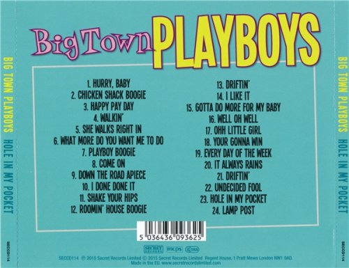 Big Town Playboys - Hole In My Pocket (2015)