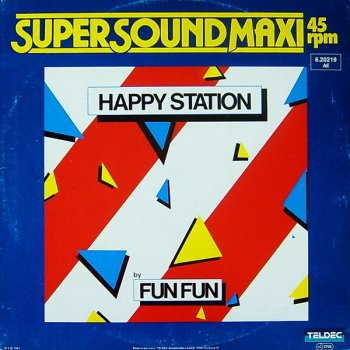 Fun Fun - Happy Station (Vinyl,12'') 1983