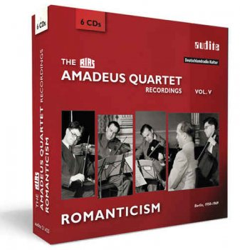 Amadeus Quartet - The RIAS Amadeus Quartet Recordings Vol. 5: Romanticism [6CD Box Set] (2017)