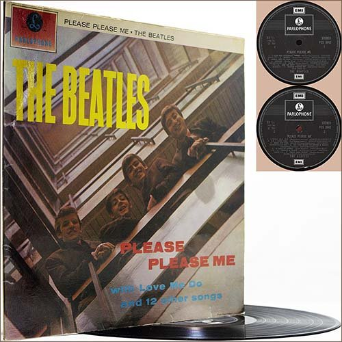 The Beatles - Please Please Me (1963) (Vinyl Stereo)