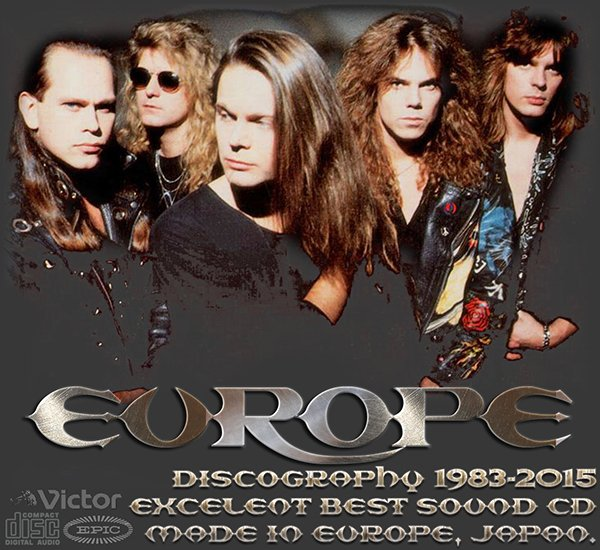 EUROPE ?Discography? (17 x CD ? 1st Press ? 1983-2015)
