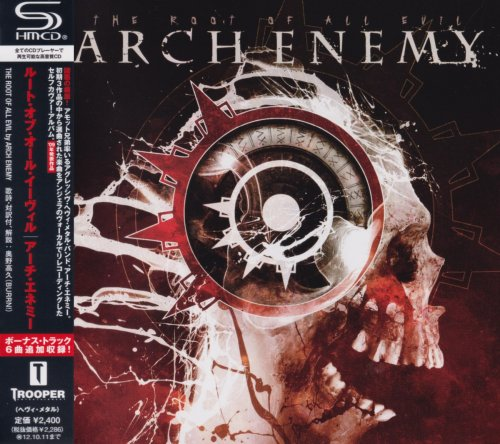 Arch Enemy - The Root Of All Evil [Japanese Edition] (2009) [2011]