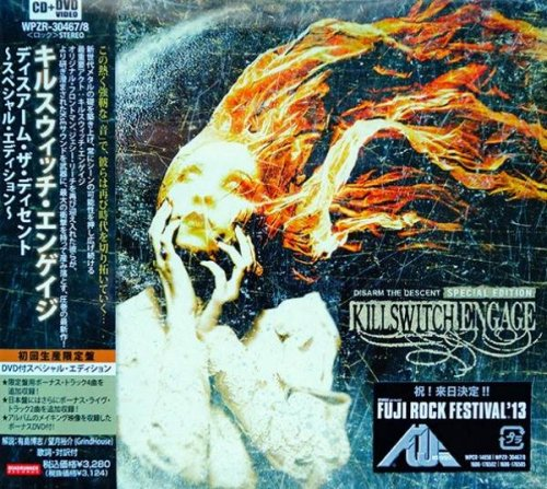 Killswitch Engage - Disarm The Descent [Japanese Edition] (2013)