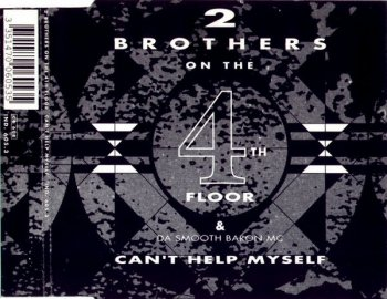 2 Brothers On The 4th Floor - Can't Help Myself (CD, Maxi-Single) 1990