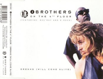 2 Brothers On The 4th Floor - Dreams (Will Come Alive) (CD, Maxi-Single) 1994