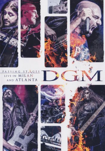 DGM - Passing Stages: Live in Milan and Atlanta (2CD) [Japanese Edition] (2017)