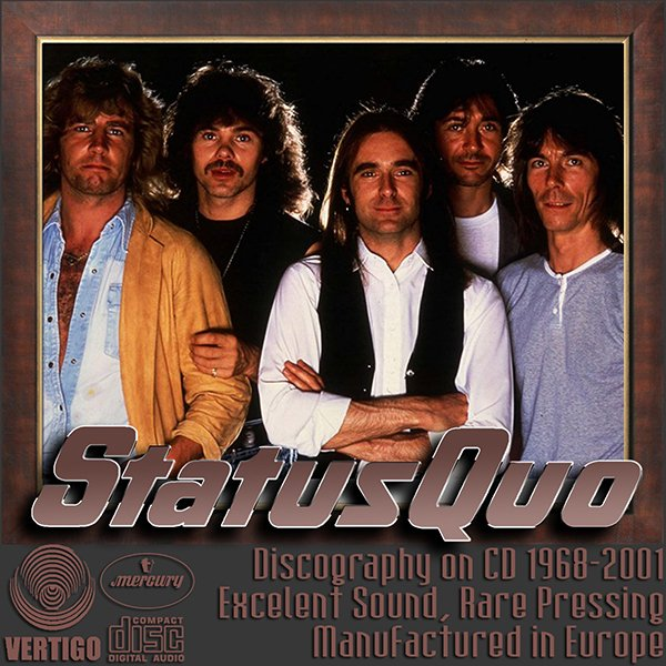 STATUS QUO «Discography» (27 x CD • Vertigo Phonogram GmbH • 1968-2001)