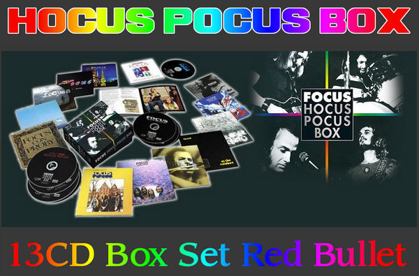 Hocus Pocus: 2017 Hocus Pocus Box - 13CD Box Set Red Bullet