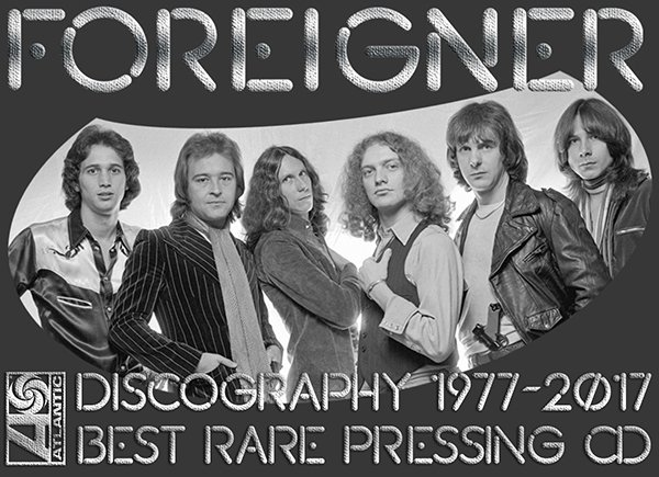 FOREIGNER «Discography + solo» (27 x CD • Atlantic Recording Corporation • 1977-2017)