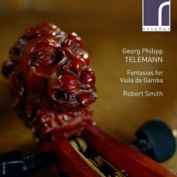 Robert Smith - Georg Philipp Telemann: Fantasias for Viola da Gamba (2017) [HDtracks]