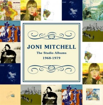 Joni Mitchell - The Studio Albums 1968-1979 [10CD Limited Edition Box Set] (2012)