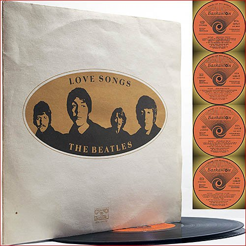 The Beatles - Love Songs (1977) [Vinyl Rip] 2xLP