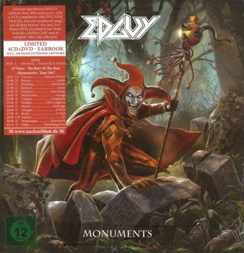 Edguy - Monuments [Earbook Edition] (2017)