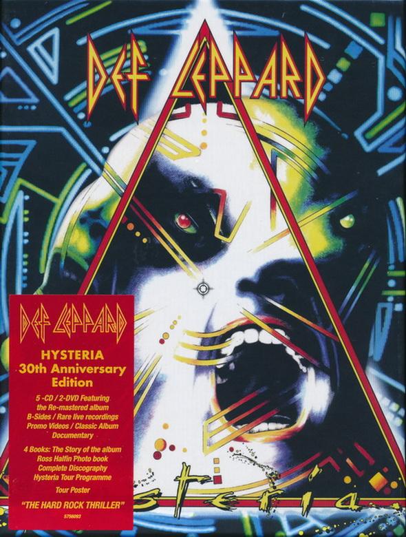 Def Leppard: 1987 Hysteria 7-Disc Box Set 2017