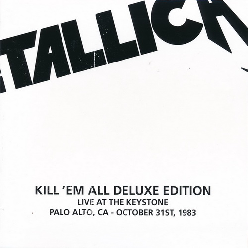 Metallica: 1983 Kill 'Em All - 10-Disc Box Set Blackened Recordings 2016