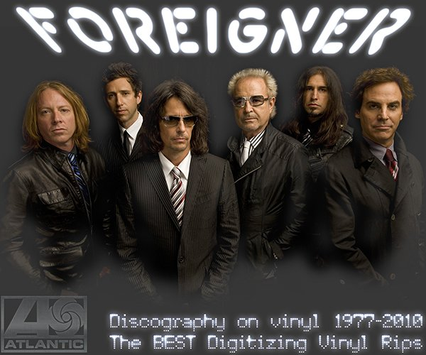 FOREIGNER «Discography + solo» (14 x LP • Atlantic Recording Corporation • 1977-2010)