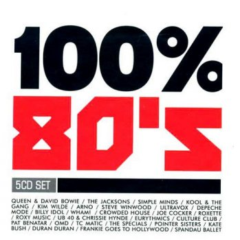VA - 100% 80's [5CD Box Set] (2008)