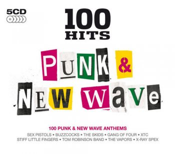 VA - 100 Hits: Punk & New Wave [5CD Box Set] (2011)