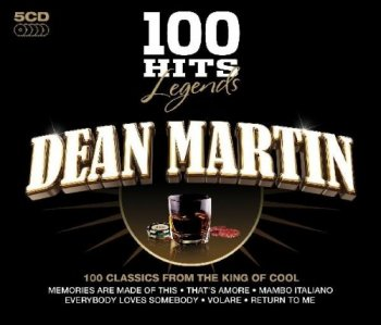 Dean Martin - 100 Hits Legends [5CD Box Set] (2009)
