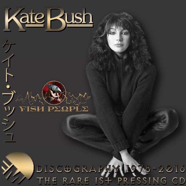 KATE BUSH «Discography» (17 x CD • Toshiba-EMI Ltd.• 1976-2016)