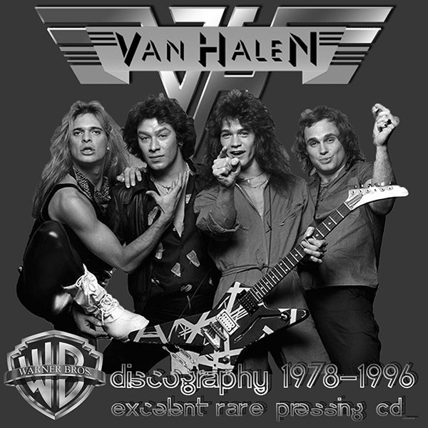 VAN HALEN «Discography» (11 x CD Warner Music Japan • 1978-1996)