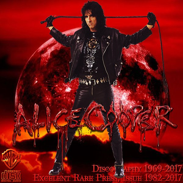 ALICE COOPER «Discography 1969-2017» (35 x CD • Warner Bros. Records • Issue 1982-2017)