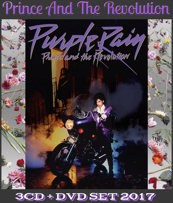Prince And The Revolution: 1984 Purple Rain - 3CD + DVD Set NPG Records 2017