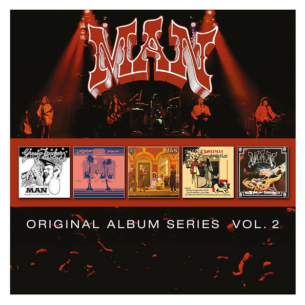 Man: 2016 Original Album Series Vol. 2 - 5CD Box Set Parlophone Records
