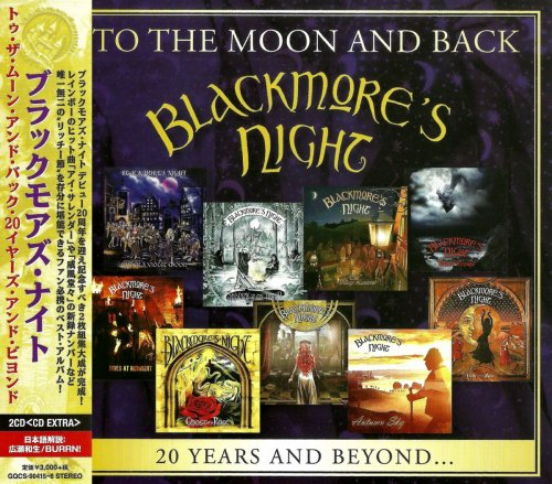 Blackmore's Night - To The Moon and Back: 20 Years and Beyond... (2CD) [Japanese Edition] (2017)