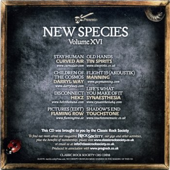 VA - Classic Rock Society: New Species Volume XVI (2014)
