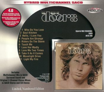 The Doors - The Best of The Doors (Limited Edition) [SACD] (2015)