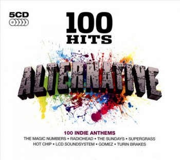 VA - 100 Hits - Alternative [5CD Box Set] (2012)