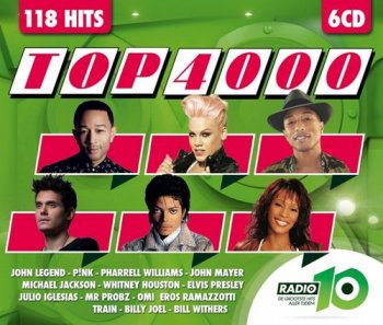 VA - Radio 10 Gold Top 4000 Editie 2015 [6CD Box Set] (2015)