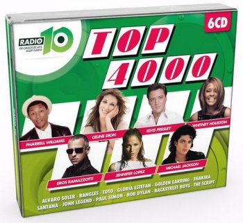 VA - Radio 10 Gold Top 4000 Editie 2016 [6CD Box Set] (2016)