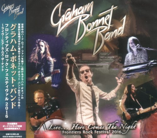 Graham Bonnet Band - Live… Here Comes The Night [Japanese Edition] (2017)
